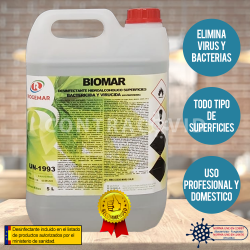BIOMAR Desinfectante...