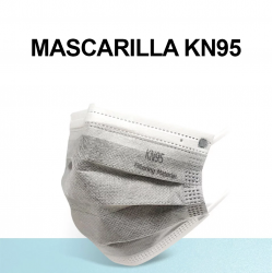 Mascarilla KN95 de 5 capas...